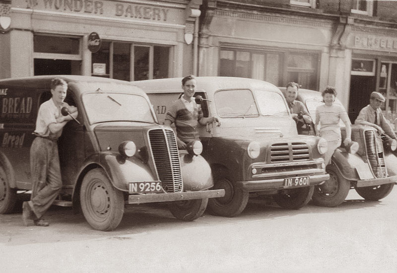 Paddy Carmody and his wife Margaret showed great enterprise when starting a bakery known as the ''Wonder Bakery' in their premises in Charles Street in the early 1950s.